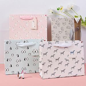 Подарочный пакет «The best animals» средний