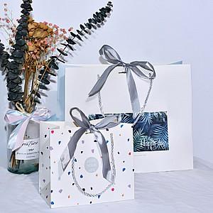 Подарочный пакет «White» большой