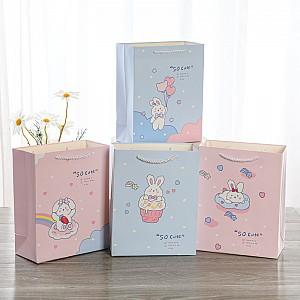 Подарочный пакет «Зайчишка» маленький
