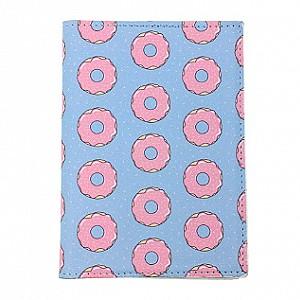 Обложка на паспорт «Donut»
