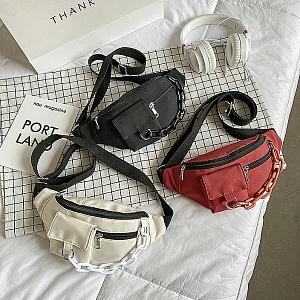 Поясная сумка с цепочкой «Style»