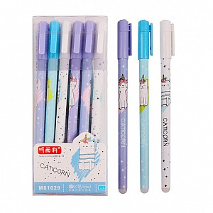 Ручка со стирашкой «Caticorn»