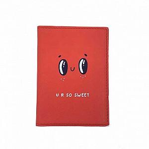 Обложка на паспорт «U r so sweet»