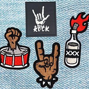 Нашивка «Fire rock»