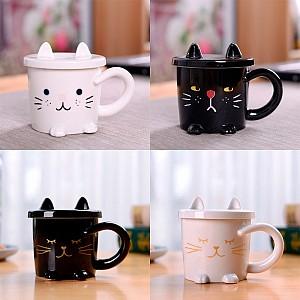 Кружка «Wnite and black cat»