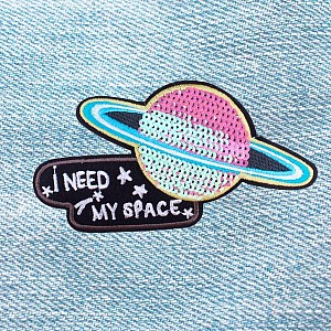 Нашивка «I need my space»