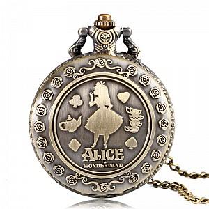 Карманные часы «Алиса в стране чудес»