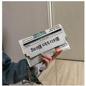 Сумка-клатч «Newspaper»