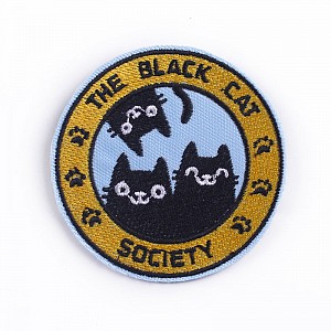 Нашивка «The black cat society»