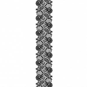 Временная татуировка «Black lace»