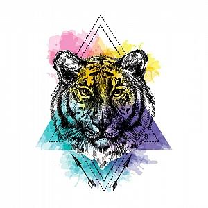 Временная татуировка «Magic animal»