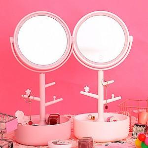 Подставка для украшений с зеркалом