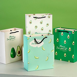 Подарочный пакет «Avocado world» маленький