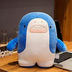 Мягкая игрушка-подушка «Акуленок» большая