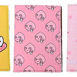 Обложка на паспорт «Peach»