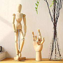 Деревянная фигурка человека