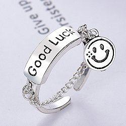 Кольцо «Good luck»