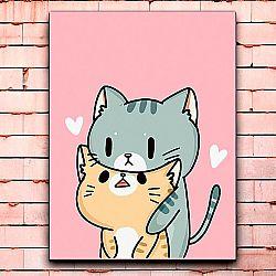 Постер «Cats love» большой