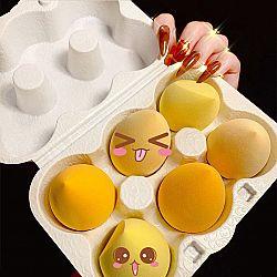 Набор спонжей для макияжа «Avocado and chicken»