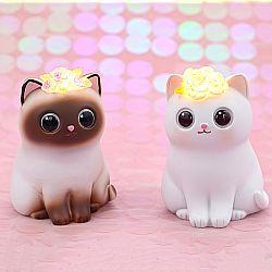 Ночник «Cat and flower»
