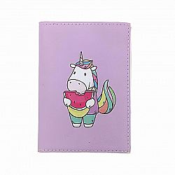Обложка на паспорт «Единорог с арбузом»