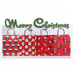 Подарочный пакет «Happy new year» средний