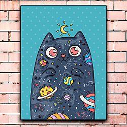 Постер «Catspace» средний