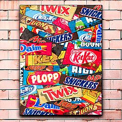 Постер «Chocolate bar»