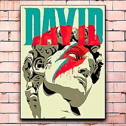 Постер «David» средний