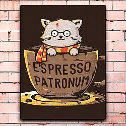 Постер «Espresso patronum» большой