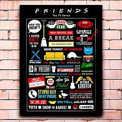 Постер «Friends» средний