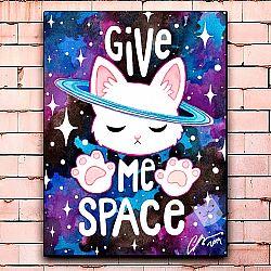 Постер «Give me space» средний