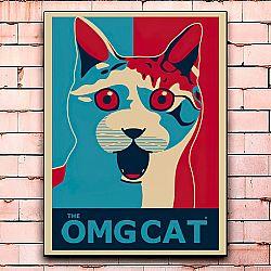 Постер «The omgcat» средний