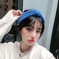 Теплая повязка для волос «Stylish girl»