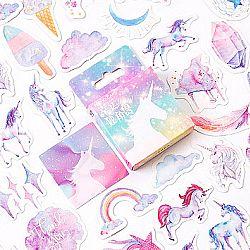 Набор наклеек «Rainbow unicorn»