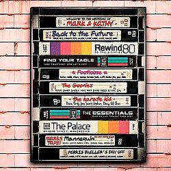 Постер «VHS» большой