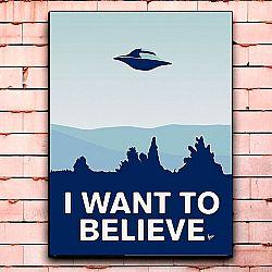 Постер «I want to believe» средний