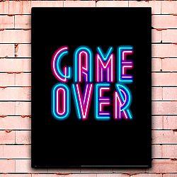 Постер «Game over» средний