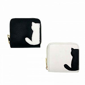Кошелек «Black and white cat» маленький