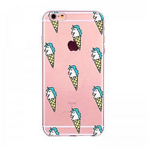 Чехол для iPhone «Единорожка-мороженка»