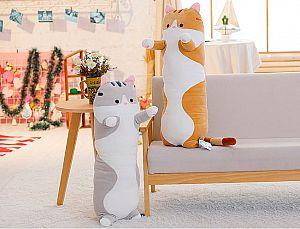 Мягкая игрушка-подушка «Обнимашки от котейки» средняя