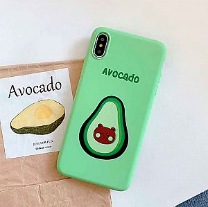 Чехол для iPhone «Авокадо-мишка»