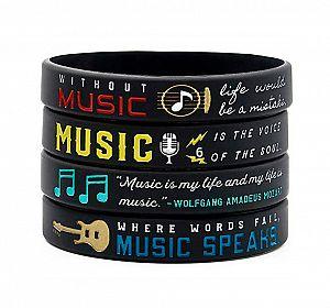 Браслет «Music is my life»