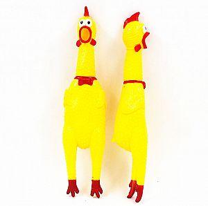 Резиновая игрушка «Big Squeeze chicken» 31 см