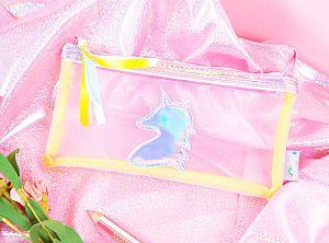 Пенал «Holographic unicorn»