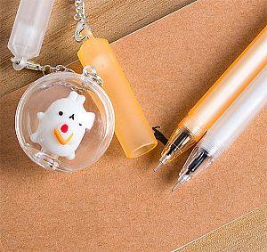 Ручка с брелочком «Molang»
