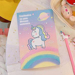 Тетрадь «Exclusive to you Dream unicorn»