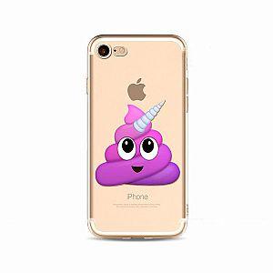 Чехол для iPhone «Какашка-единорог»