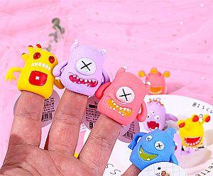 Ластик-игрушка на палец «Чудище»