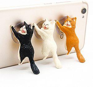 Подставка для телефона «Котик»